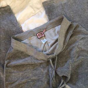Juicy Couture Comfy Pants Sz Large Gray